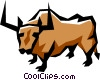 Bull Vector Clipart image