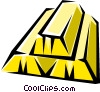 Vector Clipart picture  of a Gold bars