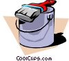 Paint can Vector Clip Art graphic