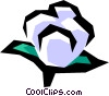 Vector Clipart graphic  of a Cotton