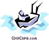 Fishing trawler Vector Clipart illustration