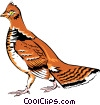 Ptarmigan Vector Clip Art picture