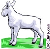 Vector Clipart image  of a Lamb