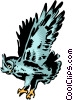 Vector Clip Art graphic  of a Owl