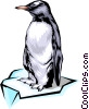 Vector Clip Art image  of a Penguin