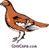 Grouse Vector Clip Art graphic