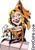 Cartoon Maid Marian Vector Clip Art picture