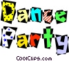 Dance Party! Vector Clipart illustration