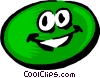 Vector Clipart picture  of a Cartoon limes