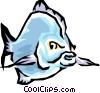 Vector Clipart picture  of a Fish