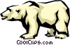 Vector Clip Art picture  of a Polar bear