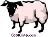 Sheep Vector Clipart image