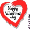Vector Clip Art image  of a Valentine's Day