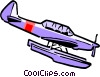 Cartoon airplanes Vector Clip Art picture