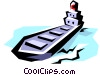 Vector Clipart picture  of a Ship