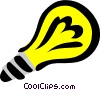Vector Clipart image  of a Light bulb