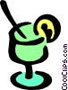 Vector Clip Art image  of a Cocktail symbol