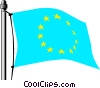 European Economic Community flag Vector Clip Art graphic