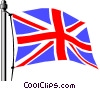 Vector Clipart image  of a United Kingdom flag