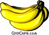 Bananas Vector Clipart illustration