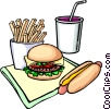 Fast food Vector Clip Art picture
