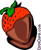 Vector Clip Art image  of a Strawberry