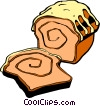 Sliced Cake Vector Clipart image