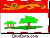 Vector Clipart graphic  of a Flag of Prince Edward Island