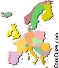 Europe Vector Clipart illustration