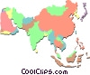 Vector Clip Art picture  of a far East