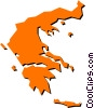 Vector Clipart picture  of a Greece
