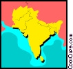 Vector Clipart graphic  of a India