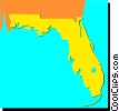 Florida Vector Clipart graphic