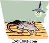 Vector Clip Art picture  of a Rats