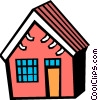 House Vector Clip Art graphic