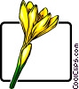 Crocus Vector Clipart illustration
