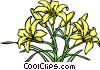 Lilies Vector Clipart illustration