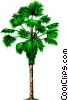 Palm tree Vector Clipart image