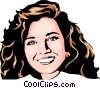 Model Vector Clip Art graphic