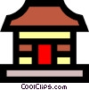 Vector Clip Art image  of a House symbol