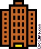 Office tower Vector Clip Art picture