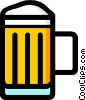 Mug of beer Vector Clip Art picture