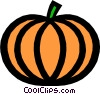 Vector Clipart graphic  of a Pumpkins
