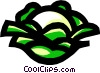 Vector Clipart graphic  of a Cauliflower