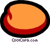 Vector Clip Art graphic  of an Apricots