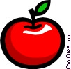 Apple Vector Clipart image