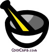 Mortar & pestle Vector Clip Art picture