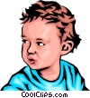 Baby boy Vector Clipart picture
