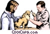 Vector Clipart image  of a Veterinary