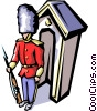 British Guard Vector Clipart illustration